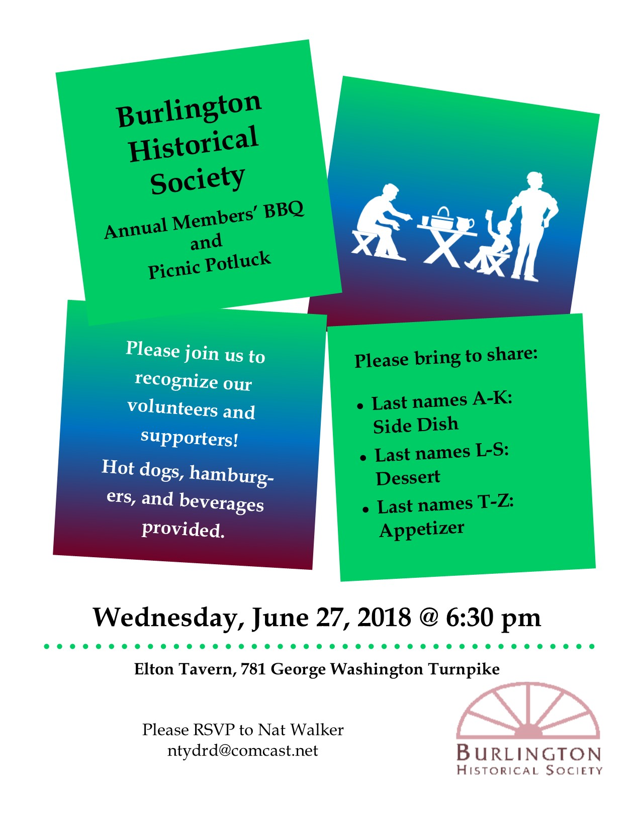 June | 2018 | Burlington Historical Society